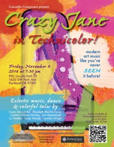 Crazy Jane in Technicolor Poster