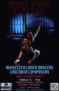 PORTAL, black holes & white holes soundtrack included in Agnieszka Laska Dancers + Cascadia Composer Performance 3.15.15 Portland, OR